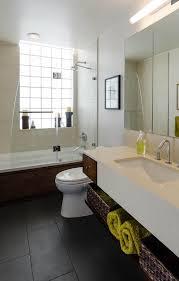 Industrial Shower Door Kohler Archer In Bathroom Industrial With Sink Skirt Next To Chest