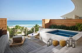 the miami beach edition premiere bungalow ocean view suite