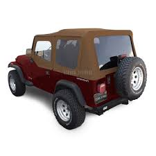 maroon jeep wrangler 4 door jeep soft tops shop by model from jeep tops direct