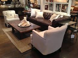 Pictures Of Living Rooms With Leather Furniture Living Room Furniture For The Living Room Mixed White And Brown