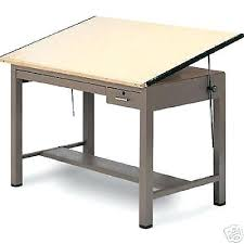 Antique Oak Drafting Table Antique Oak Drafting Table Desk Arts And Crafts Mission Architect