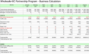 34 financial business plan template excel raise capital