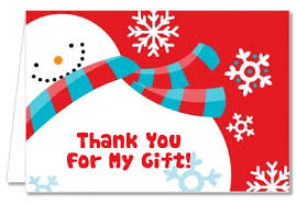 christmas thank you cards christmas thank you cards snowman thank you notes