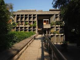 bureau de change boulevard germain le corbusier mill owners association building ahmedabad 1951