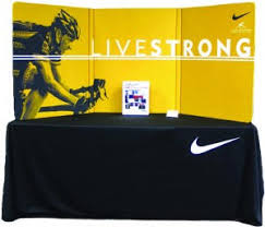 table top banners for trade shows radius tabletop displays and portable trade show exhibits