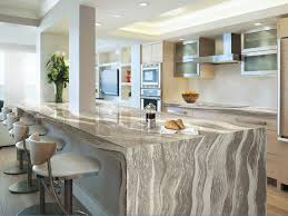 granite countertop pretty kitchens with white cabinets waterfall