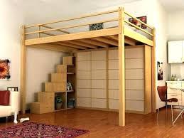 chambre mezzanine adulte chambre mezzanine adulte simple lit cabane xcm beige sommier inclus
