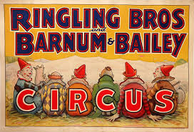 Barnes And Bailey Circus A Farewell To The Circus U2013 100 Years Of Original Circus Posters