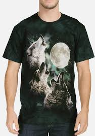 3 Wolf Moon Meme - three wolf moon t shirt