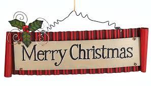 merry christmas signs merry christmas tin wall hanging