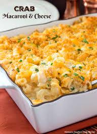 crab macaroni and cheese melissassouthernstylekitchen com