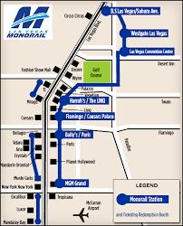 map n las vegas monorails vegas