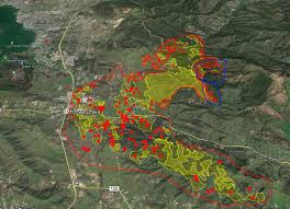 Wildfire Map Near Me by Update Wednesday 8 A M Clayton Fire Day 3 Maps Photos More