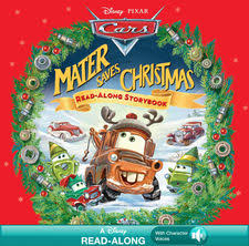 disney pixar cars mater saves read along storybook by