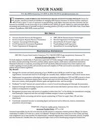 accounts payable resume exle accounts payable resume sle resume for study