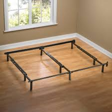 How To Make A Platform Bed Frame With Legs by Sleep Revolution Compack Steel Bed Frame Walmart Com