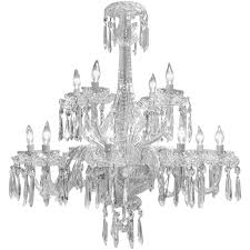 Florian Crystal Chandelier Vintage Waterford Twelve Arm Irish Crystal Chandelier At 1stdibs