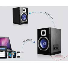 home theater systems with wireless speakers powered wireless bluetooth studio monitor slave speaker with 5