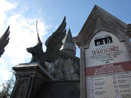 halloween horror nights wait times the wizarding world of harry potter part 1 the writing nut