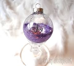 make easy glittered bulb ornaments creative green living