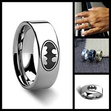batman wedding band batman wedding ring show heroic and devotion