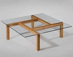 wood coffee table with glass top coffee tables 125 woods and glass amazing wood table 13 plan