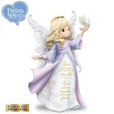 lena liu precious moments strength hope angel figurine