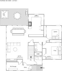 Chalet Floor Plan Northstar Ski Chalet Tahoe Luxury Properties