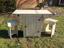 kitchen island farmhouse small farmhouse urban kitchen island with two stools wes dalgo