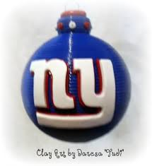 new york giants inspired ornament york new york and ornaments