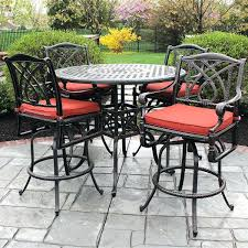 high table patio set high outdoor table and chairs outdoor patio dining sets for 4 seat