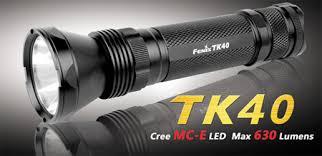 Brightest Flash Light Fenix Tk40 Flashlight World U0027s Brightest Aa Powered Flashlight