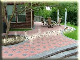 paver designs for backyard best 25 paver designs ideas on