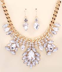 rhinestone statement necklace images Guinevere rhinestone statement necklace and earring set ava jpg