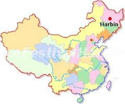 china on a map harbin on china map harbin and festival map china