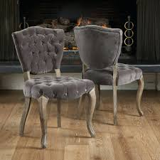 Tufted Dining Room Chairs Sale Dining Chairs Cheap Fabric Dining Chairs Melbourne Grey Fabric
