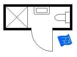 Smallest Bathroom Floor Plan The 25 Best Small Bathroom Floor Plans Ideas On Pinterest Small
