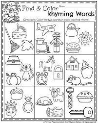 fall kindergarten worksheets for november kindergarten
