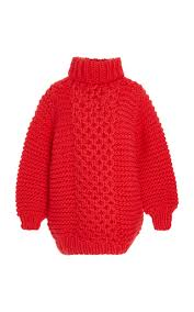 chucky sweater chucky sleeve wool sweater by i mr mittens moda operandi
