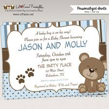 teddy baby shower awesome teddy baby shower invitations which can be used as