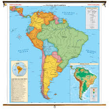 Climate Map Of South America by South America Political And Historical Pergamon World Atlas Map