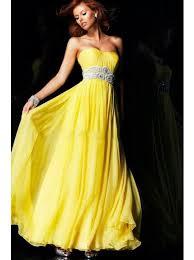 long yellow prom dresses long yellow chiffon inexpensive
