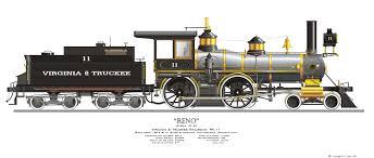 virginia u0026 truckee locomotive 11 reno