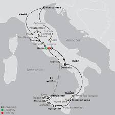 Map Of Tuscany Italy Splendors Of Italy Tour Cosmos