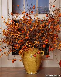 Martha Stewart Halloween Party Ideas by Fall Branch Arrangements U0026 Video Martha Stewart