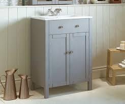 salisbury grey 600 freestanding vanity unit with sink bathrooms com
