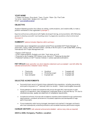 Good Resume Objectives Marketing by Business Resume Objective Examples Resume For Your Job Application