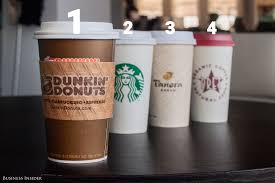 Pumpkin Spice Dunkin Donuts 2017 by We Tasted 4 Pumpkin Spice Lattes From Major Coffee Companies U2014 And
