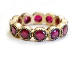 ruby band on sale eternity wedding band ruby eternity band diamond