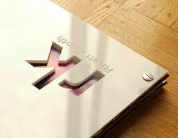 Online Interior Design Portfolio by Interior Designer Portfolio Book 11 X 14 White Acrylic With